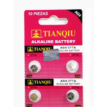 80 Pilas Ag4/377/sr626 Alkalina 1.5 V Para Reloj Y Juguete