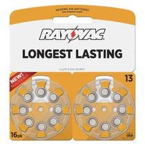 Batería Para Aparatos Auditivos 13 Naranja 1.4 Rayovac
