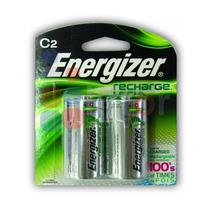 Pila Energizer Recargable C C/2 2500mah Nimhhr14