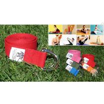 Cinturon Yoga, Cinta, Strap, Accesorio Yoga O Pilates