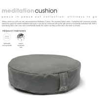 Cojin De Meditación Manduka Meditation Cushion Lavable.