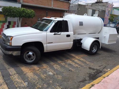 Pipa De Gas L.p. De 2600 Lts Nueva / Chevrolet_3500