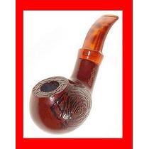 Pipa Madera Fumar Tabaco, Raiz Rosal Africano Rosewood