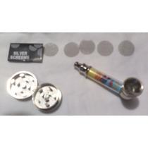 Pipa De Metal Con Accesorios Y Aislante De Calor