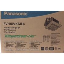 Ventilador Extractor P/baño Panasonic Fv-08vkml4 Silencioso