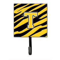 Monograma De La Letra Inicial T - Raya Del Tigre - Titular D