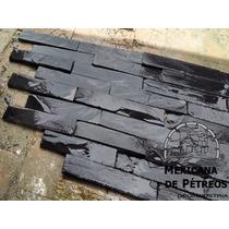 Slate Nacional Negro Imperial Para Acabados, Muros, Fachadas