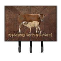 Bienvenido Al Rancho De La Vaca Y Del Bebé Correa O Titular