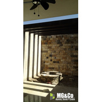Piedra Chapa De 15 Y 20 Por Largo Para Fachadas Mg-stones