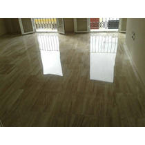 Piso De Marmol Travertino Clasico 40x60 $ 350,00 M2 Brillado