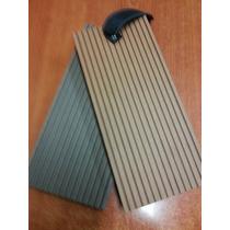 Piso Deck Para Exterior De Wpc Con Fibra De Bambu
