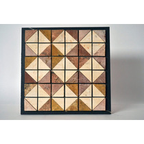 Mallas Mosaicos Tapetes Fachadas Mármol Travertino 30x30cm