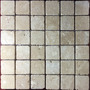 Malla Mosaico Tapete Marmol Travertino Beige O Chocolate 2x2