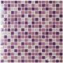 Mosaico Veneciano Violeta Morado 30x30 Castel Mallas Cristal