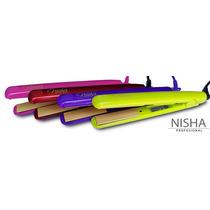 Plancha Alaciadora Profesional Nisha 400of Colors
