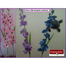 Flores Artificiales Orquideas Flor De Durazno Fdp
