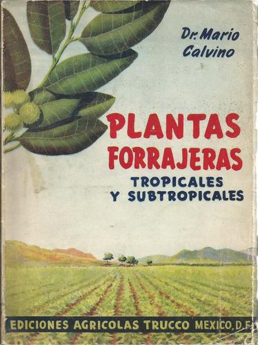 Plantas Forrajeras Tropicales Y Subtropicales Mario Calvino  $ 100