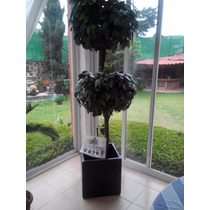 Arbol Artificial Topiario En Bola