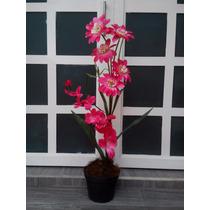 Arreglo Floral Artificial En Maceta