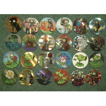 Tazos Plantas Vs Zombies