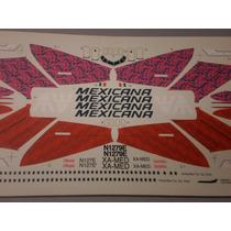 Calcomania Para Avion De Mexicana De Aviacion