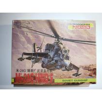 Mi-24 Hind, Helicóptero Artillado Ruso, Escala 1/144, Dragon