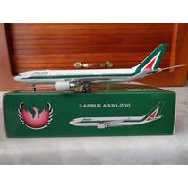 Avion A330-200 De Alitalia Phoenix Escala 1:400 Gemini Jets