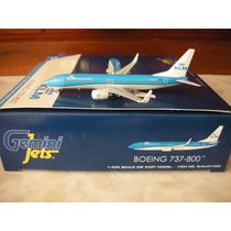 Avion Boeing 737-800(w) De Klm Escala 1:400 Gemini Jets