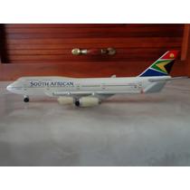 Avion Boeing 747-400 South African Herpa 1:500 Gemini Jets