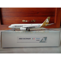 Avion Airbus A320-200 Mexicana Escala 1:400 Latin Classics
