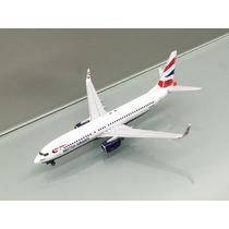 Avion Boeing 737-800(w) De British Airways 1:400 Gemini Jets