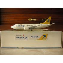 Avion Boeing 737-300 De Taesa Escala 1:400 Latin Classics
