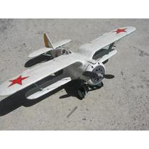 Polikarpov I-15bis Armado Y Pintado 1/72