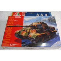 Tanque King Tiger Sd.kfz.182 Esc.1/72 Italeri Nuevo!