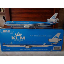 Avion Md-11 De Klm Ultimo Vuelo En Escala 1:200 Gemini Jets