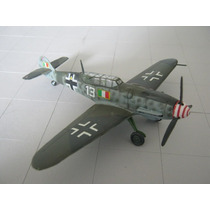 Avion Armado Y Pintado Messerschmitt-109g-12