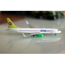 Avion Boeing 737-800(w) S7 Siberia Airlines En Escala 1:200