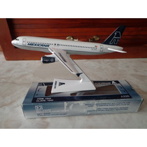 Raro Avion Airbus A320 De Mexicana Escala 1:200 Catisa Jets