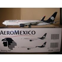 Boeing 767-300er(w) De Aeromexico Jc Wings1:200 Gemini Jets
