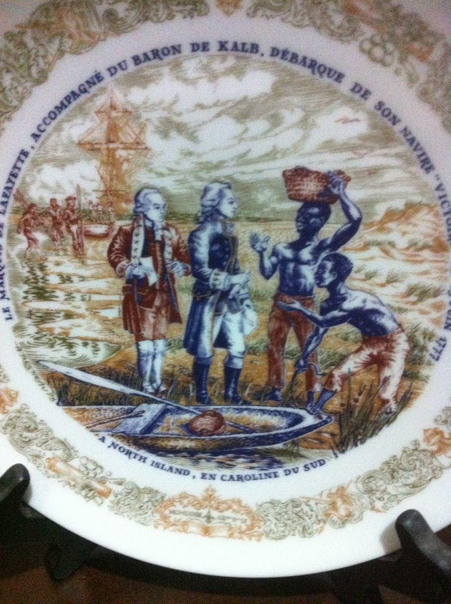 Plato de porcelana limoges 1 en mercadolibre for Platos porcelana