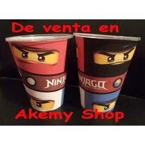Ninjago Vasos Desechables Articulos De Fiesta