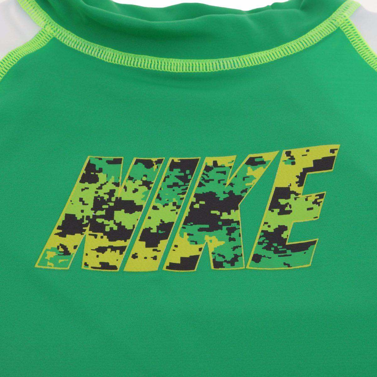 Baño Para Ninos Con Tos:Playera Traje De Baño Niño Nike Con Filtro Solar Uv 6/8 Años – $
