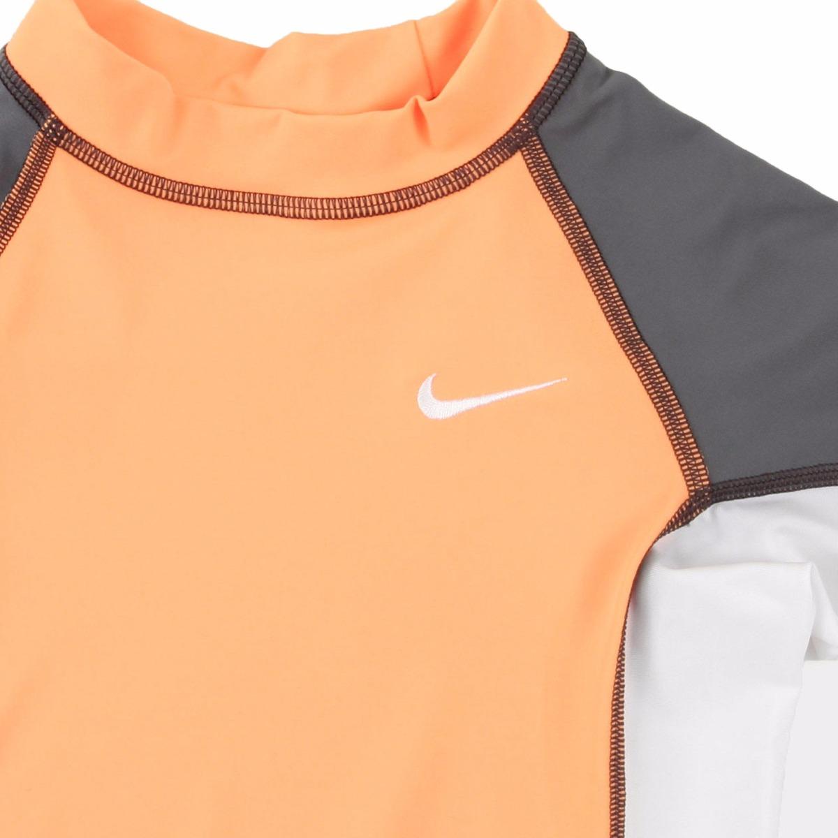Playera Traje De Baño Niño Nike Con Filtro Solar Uv8/10 ...