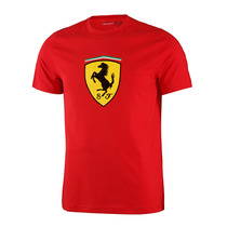 F1 Camiseta Ferrari Clásica Scuderia Ferrari Roja