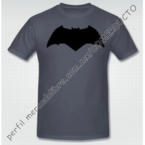 Playera Batman Vs Superman Dawn Of Justice Logo