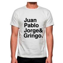 Playera Juan Pablo Jorge Y Gringo Beatles Los Escarabajos