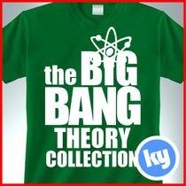 Playeras Series Tv Big Bang Theory, Sheldon, Ames, Bazinga