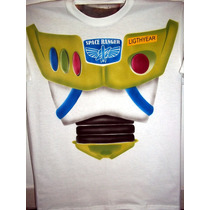 Playera Buzz Light Year Toy Story Aerografia