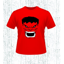 Playera Hulk Rojo