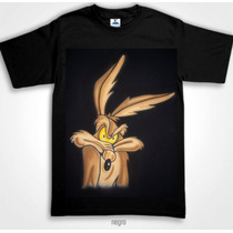 Playera Willie El Coyote Correcaminos Aerografia